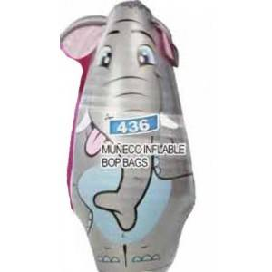 Muñeco inflable bop bag